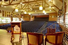 St Margaret's and Berwick Grammar School Auditorium Internal View from Stage