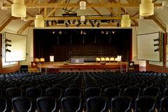 St Margaret's and Berwick Grammar School Auditorium Internal View looking towards Stage